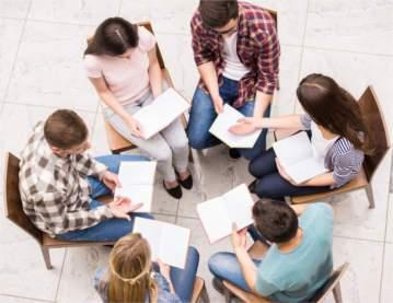 Zajęcia grupowe w ośrodku odwykowym